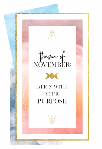Align with your purpose